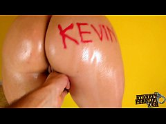 HD Custom for Kevin - Oiled Ass Cowgirl Fuck!
