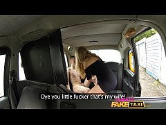 Female Fake Taxi She'll take you all the way
