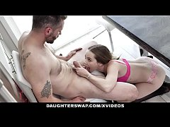 DaughterSwap - Thanksgiving Fuckfest with Daughter