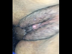 Squirting and creaming on the dick.MOV