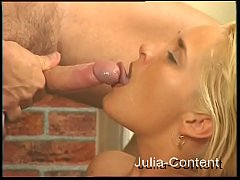 It-Girl fucked - Blond and Cumshot