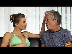 DADDY4K. Beauty finally gets chance to make love with BF's old father
