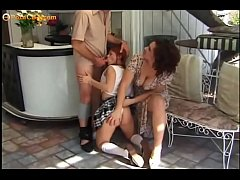 Stunning threesome with two Amazing Lolita's