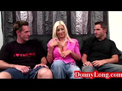 Donny Long tag teams huge titty swedish mom milf