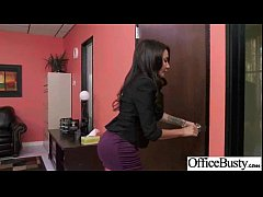 (lela star) Big Tits Office Slut Girl Banged Hardcore vid-17