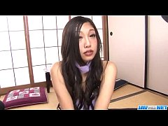 Clip sex Serious office threesome along slutty Maki Takei