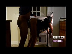 Fucked in a refrigerator doggystyle the first time real black woman sex