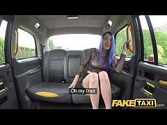 HD Fake Taxi Spanish chick Liz Rainbow loves anal fingering whilst fucking