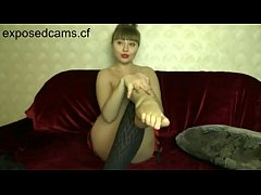 Foot Fetish Russian Girl on Cam