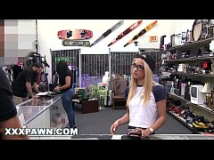 HD XXXPAWN - Uma Jolie Paying Dues To Get Her Ring Back From Pawn Shop