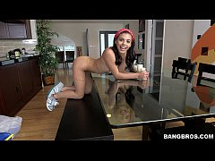 BANGBROS - Brazillian maid sucks and fucks