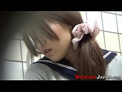 Uniformed japanese babe