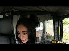 busty amateur emily pounded and creampied by taxi driver