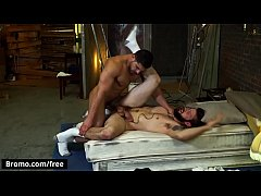 Bromo - Buck Richards with Damien Stone at Bareback Inquisition Part 2 Scene 1 - Trailer preview