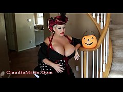 Claudia Marie Interracial Anal Halloween