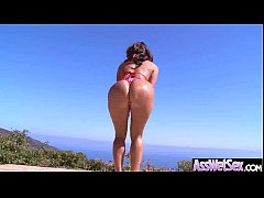 Anal Sex Scene With Big Oiled Wet Curvy Butt Girl (ava addams) movie-07