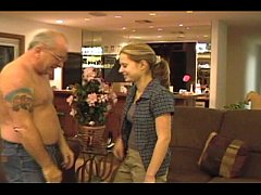Jayne & Uncle Jesse Stripdown Blowjob