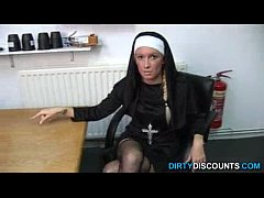 sexy nun punish BBC