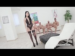 Super Hot Nicole Black 4on1 Balls Deep Anal & DP \/ DAP \/ in every position imagi