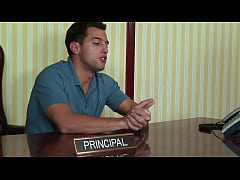 Very Young Teen Gets Punished By Principal-