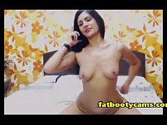 Bombshell Latina wants Dick in her Asshole - fatbootycams.com