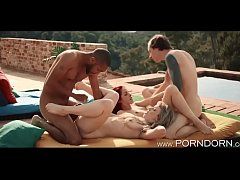 Swingers Party in the Summer  - The Pool Sex