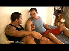 This two gay latino men get into some hot fucking with their bi vergas