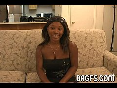 Cute ebony porn audition