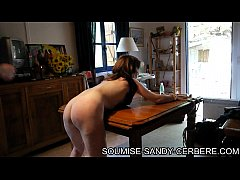 video sm soumise sandy seance martinet en week end bdsm dans un bungalow en foret