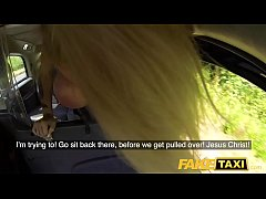 HD Fake Taxi Busty dirty talking blonde squirting Milf fucked in cab
