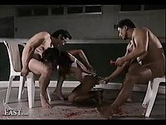Uncensored Japanese Erotic Fetish Sex - Gym Bondage 17 (Pt 5)