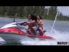 Teens Ride the Party Boat video starring Eva Saldana - Mofos.com