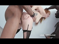 Double Anal Creampie Lauren Phillips gets 2 BBC with Big Gapes, Balls Deep Anal, DAP, Creampie to Swallow GIO831