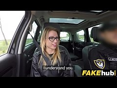 Fake Cop Unregistered driver creampied by cop
