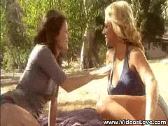 2 Girls Fuck Stranger In The Park