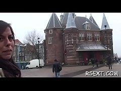 Horny dude has some hawt enjoyment with the amsterdam prostitutes
