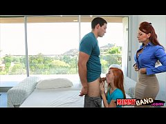 Janet Mason and Alex Tanner horny 3way