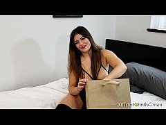Kennedy Taylor Ecstasy with Hot Wax Bondage And Butt Plug