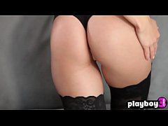 Erotic busty model babes show their sensual skills