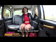 HD Female Fake Taxi Tattooed babes squirt and masturbate with sex toys