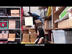 Shoplyfter - Cute Asian Teen Strip searched
