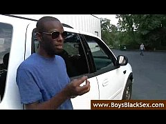 Black Gay Sex Fucking- BlacksOnBoys - video21