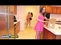 BANGBROS - Stepmom Savanah Sage Ruins Jake Jace's Anniversery Plans For Jade Nile