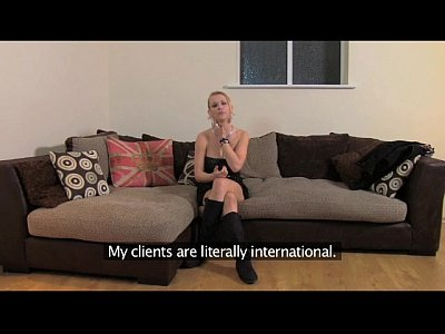 British Casting Euro video: FakeAgentUK Filthy hot euro girl in anal casting