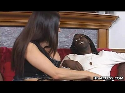 Interracial Mature Matureshd video: Mature MILF takes on big black cock
