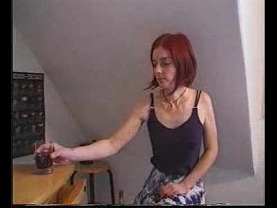 Amateur Teen Redhead video: Nena (Ulrike) and a freind
