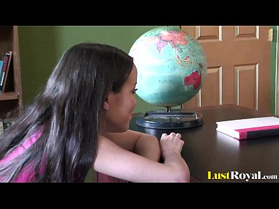 Shaved Brunette Petite video: Petite cutie Amai Liu gets a bonking session