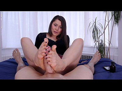 Teen Sexy Job video: Meana Wolf - Footjobs - Foot Fucked