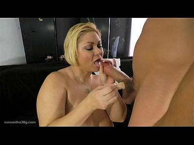 Chunky Cougar Curvy video: Cougar BBW Samantha 38G Pays Stud to Fuck Her