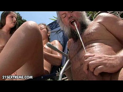 Brunette Ffm Girlontop video: Albert's Afternoon Party part 2
